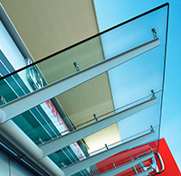 furnaced laminated heat strengthened glass